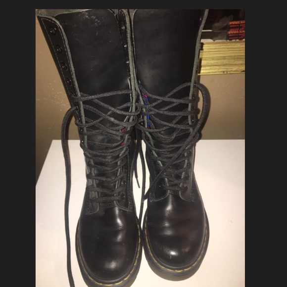 862433569c03 dr martens Shoes - Dr. Martens 1B99 14 Eye Boots black size 7 women s
